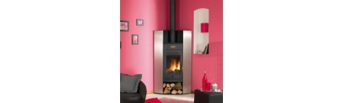CONTEMPORARY WOOD STOVES